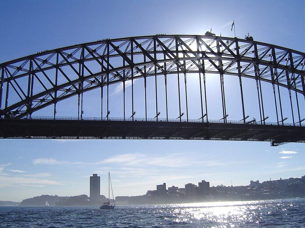 Dreamy Sydney Harbour Bridge by judy