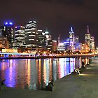 Melbourne by Night by redaw11