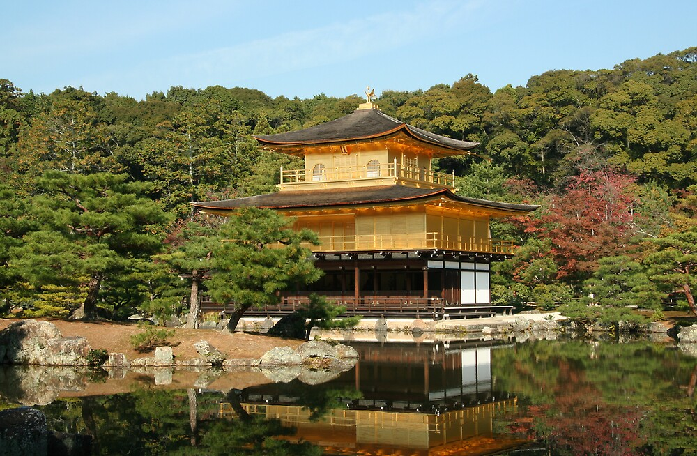Golden Pavillion - Kyoto by redaw11