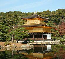 Golden Pavillion - Kyoto by redaw11