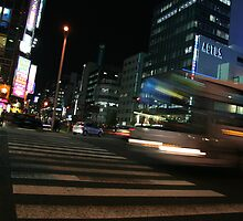 Moving Bus - Nagoya, Japan by redaw11