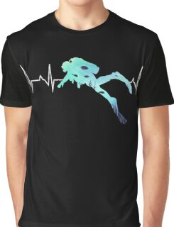 Scuba Diving Heart Beat - Best Gift for Diver Graphic T-Shirt