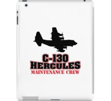 Awesome 'C-130 Hercules Maintenance Crew' Limited Edition T-Shirt and Accessories iPad Case/Skin