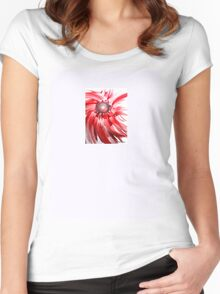 Oil Flower - an original piece of art work  Women's Fitted Scoop T-Shirt