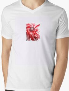 Oil Flower - an original piece of art work  Mens V-Neck T-Shirt