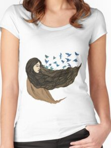 Sleep to dream Women's Fitted Scoop T-Shirt