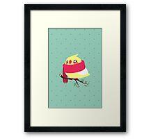Winter Birb Framed Print