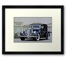 Pierce Arrow at the Palace Framed Print