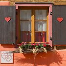 Window and Hearts by Yair Karelic