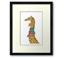 Wrap up! Framed Print