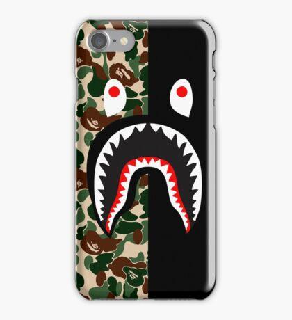 army black shark camo iPhone Case/Skin