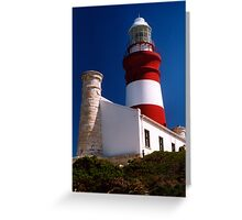 So Africa lighthouse Greeting Card