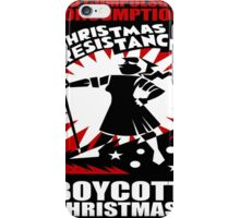 Christmas Resistance iPhone Case/Skin