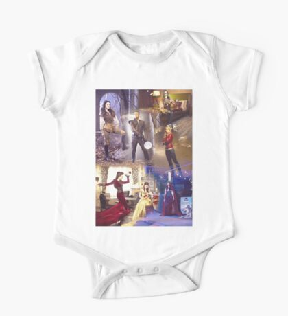 Once Upon A Time - main cast One Piece - Short Sleeve