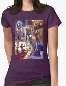Once Upon A Time - main cast Womens Fitted T-Shirt
