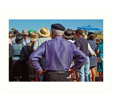 48th Picnic Race Meeting, Warri Racecourse, Ardlethan Art Print