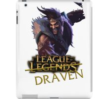 League of Draaaaaaaaaaven iPad Case/Skin