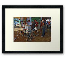48th Picnic Race Meeting, Warri Racecourse, Ardlethan Framed Print