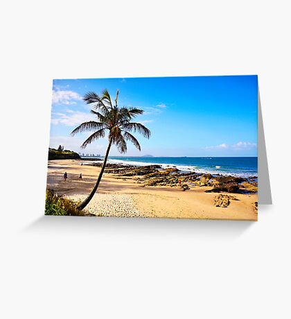 Beach in Australia Greeting Card
