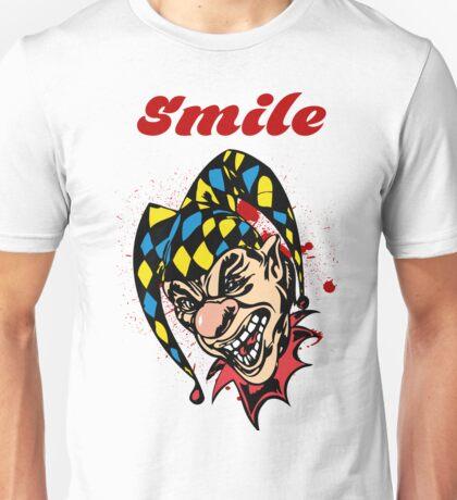 Scary killer clown Unisex T-Shirt