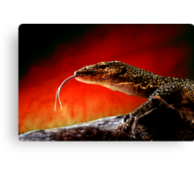 Keeper of The Flame Canvas Print