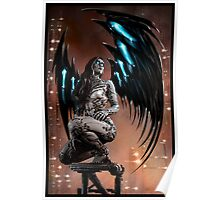 Robot Angel Painting 003 Poster