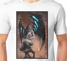 Robot Angel Painting 003 Unisex T-Shirt