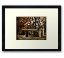 The Nevele Hotel Framed Print