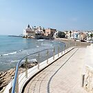 Seaside Sitges by Shaun Colin Bell