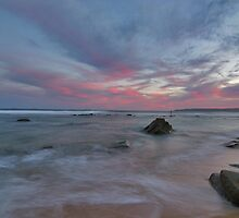 bar beach Newcastle nsw by Ty Cooper