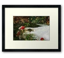 Ophelias Garden  - Rememberance Framed Print