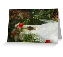 Ophelias Garden  - Rememberance Greeting Card