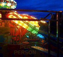 Rides at night by Roxy J