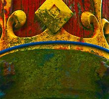 Ancient Wood Texture with Real Crown by aurielaki