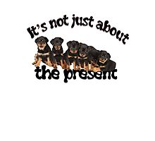 It's Not Just About The Present Greeting Card Photographic Print