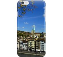 View from Lindenhof iPhone Case/Skin