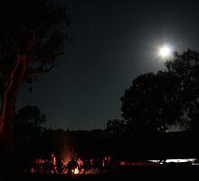 Moonlit Fire by Javier Romero