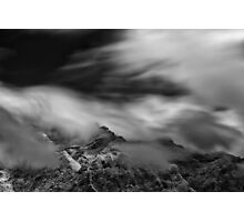 Silence and Storm Photographic Print