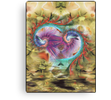 11-psychedelic abstract Canvas Print