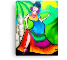 Sway with me Canvas Print