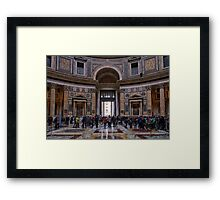 The Pantheon of Rome Revisited Framed Print