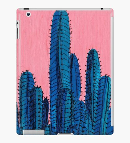 Blue Cactus iPad Case/Skin