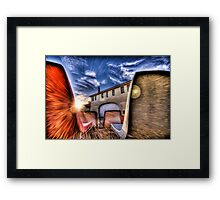 A Cinematic Expirience Framed Print