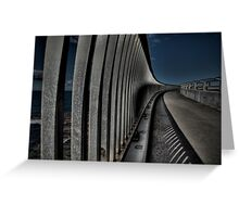 Sea Cliff Bridge Greeting Card