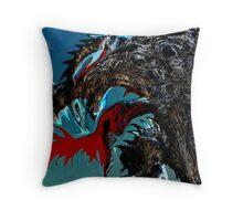 poltergeist Throw Pillow