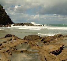 Parker Hill Beach,Great Ocean Road by Joe Mortelliti