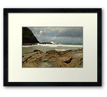 Parker Hill Beach,Great Ocean Road Framed Print