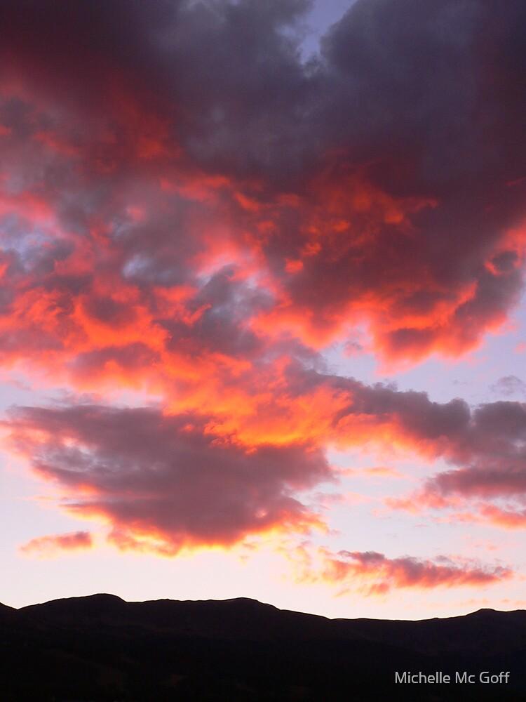Breckenridge sunset by Michelle Mc Goff