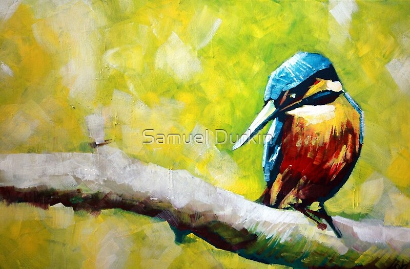 Kingfisher Paintings For Sale