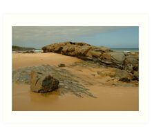 Foreshore Skenes Creek,Great Ocean Rd Art Print